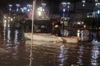 İstanbul'da şiddetli yağış etkili oldu