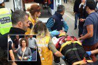 Ünlü oyuncu yaralanan çocuğun yardımına koştu