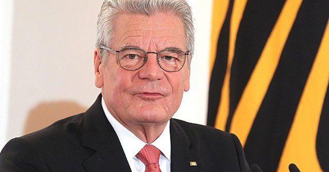 Almanya'da diplomatlar Gauck'tan rahatsızlar