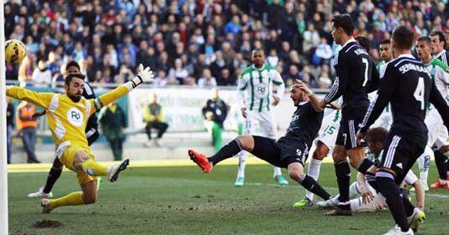 Cordoba Real Madrid'e boyun eğdi