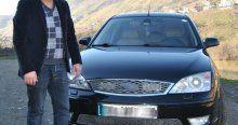 '06 AKP 05' plakalı otomobiline 60 bin lira istiyor