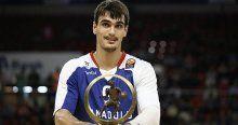 Avrupa'nın en iyi genç basketbolcusu Saric