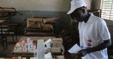 Ebola için ilaç ve tıbbi malzeme desteği