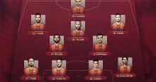 Galatasaray, Eskişehirspor maçında Galatasaray'ın ilk 11'i belli oldu