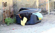 Hatay'da yaşanan vahşetin zanlısını valiz yakalattı