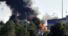 İspanya'da Yunan F-16 uçağı düştü