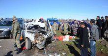Şanlıurfa'da korkunç kaza, ölü ve yaralılar var