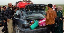 Sığınmacılar Kerkük'ü terk ediyor