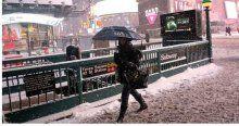 THY'nin o seferi iptal edildi,  ABD'de kar alarmı