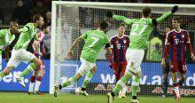 Wolfsburg sahasında Bayern Münih'i dağıttı