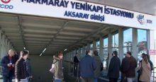 Yine bomba paniği, bu kez Marmaray'da