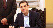 Yunanistan'da hükümet kuruldu