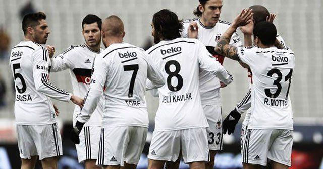 Beşiktaş 'Ba' ile zirveye tutundu