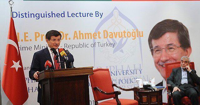 Davutoğlu, 'Hükümete kimse ev ödevi veremez'