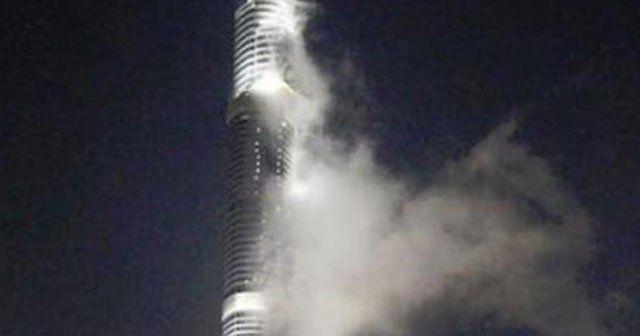 Dünyanın en büyük binasında yangın paniği