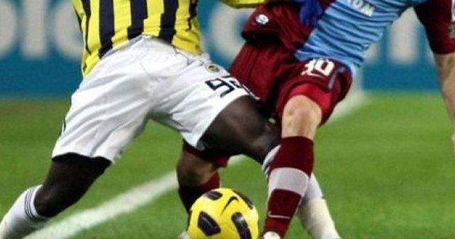 Fenerbahçe 0-0 Trabzonspor ilkyarı sonucu