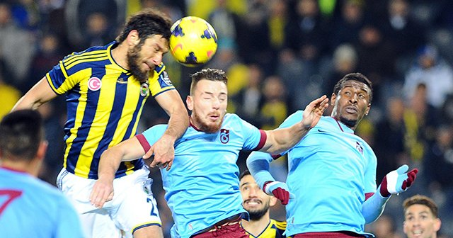 Fenerbahçe 0-0 Trabzonspor maçın geniş özeti