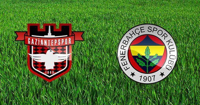 Fenerbahçe'nin Gaziantepspor karşısında ilk 11'i belli oldu