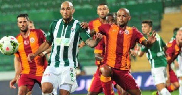 Galatasaray, Bursaspor maçı ilk 11'leri belli oldu
