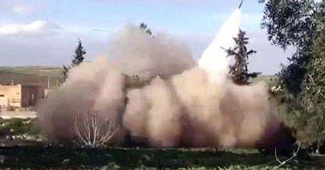 IŞİD füzelerle saldırmaya başladı