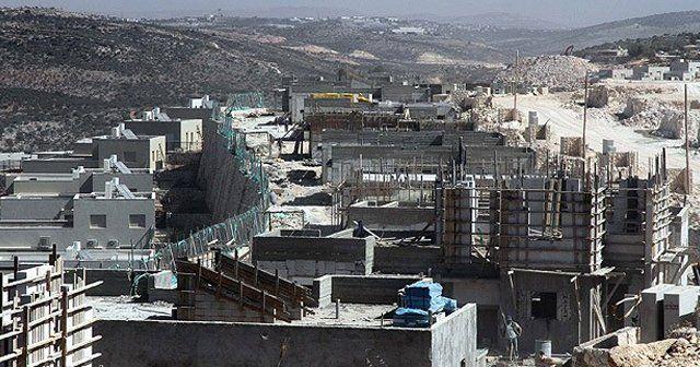 İsrail, Filistin'de yeni inşaatlara başladı