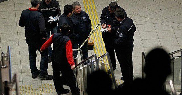 İzmir metrosunda yürüyen merdiven kazası