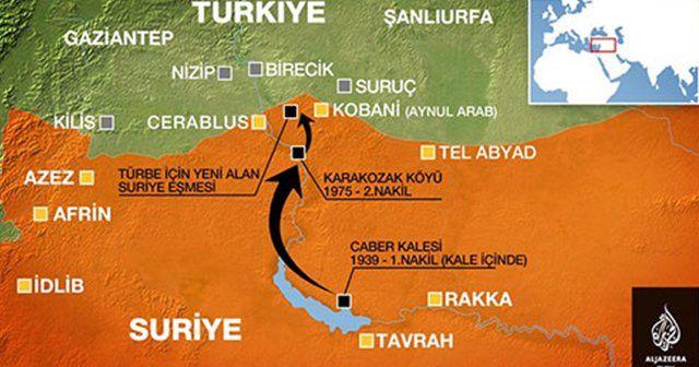 Süleyman Şah Türbesi boşaltıldı, çatışmalar başladı!