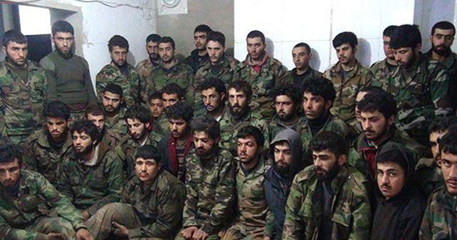 Suriyeli muhalifler Hizbullah timini ele geçirdi