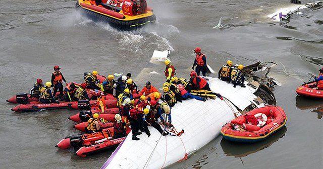 Tayvan'daki uçak kazasında ölenlerin sayısı 23'e yükseldi