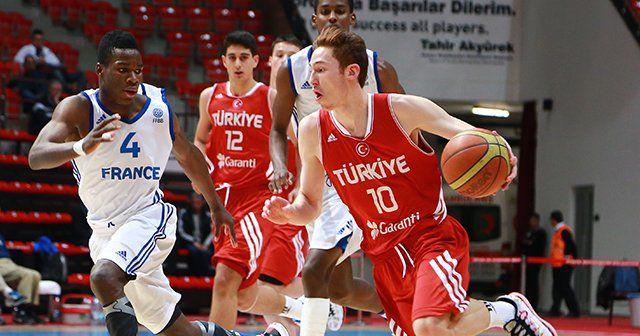 Türkiye Fransa'yı devirdi yarı finale yükseldi