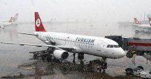 Atatürk Havalimanı'nda tüm uçak seferleri durduruldu