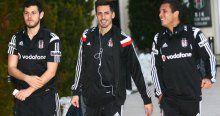 Beşiktaş kafilesi Eskişehir'e gitti