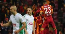 Galatasaray, Torku Konyaspor'u 4-1'lik skorla geçti