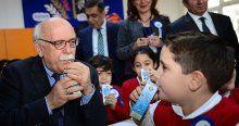 İkinci yarıyıl 'okul sütü' ile başladı
