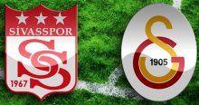 İşte Sivasspor - Galatasaray maçının muhtemel 11'leri