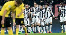 Juventus evinde avantajlı durumda