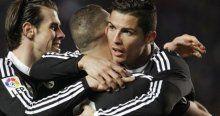 Madrid'i Ronaldo ve Benzema sırtladı