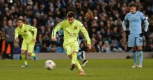 Manchester City Barcelona'ya yenildi