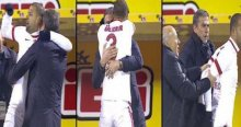 Melo ile Hamzaoğlu'nun gol sevinci sosyal medyada olay oldu