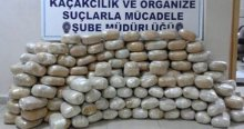 Polis memuru 205 kilo uyuşturucu ile yakalandı