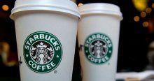 Starbucks Türk bayrağını kaldırdı