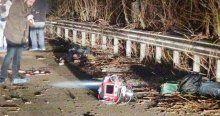 TEM'deki TIR parkında 2 ceset bulundu