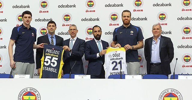 Fenerbahçe Ülker'e yeni sponsor