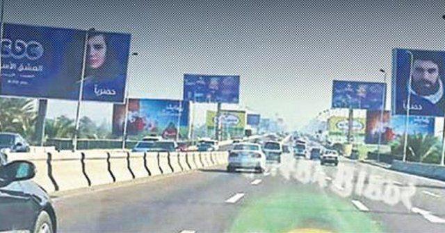 Mısır sokakları onların posterleriyle süslendi