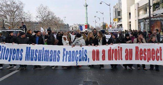 Müslümanlar İslamofobi ve ırkçılığa karşı yürüdü