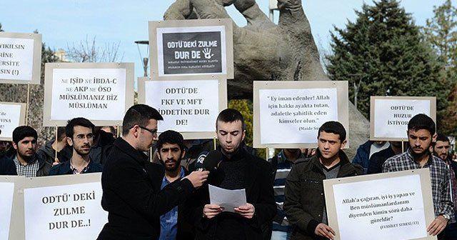 ODTÜ'lü öğrenciler derse giremediklerini iddia etti