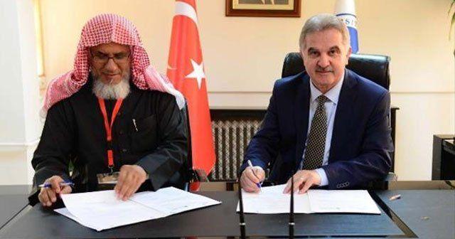 Suudi Arabistan'la aralarında işbirliği protokolü imzaladılar