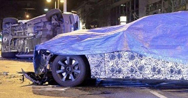 Testteki BMW 7 Serisi Mercedes'i devirdi