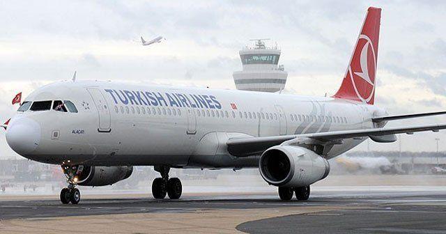 THY uçağı arıza nedeniyle geri döndü