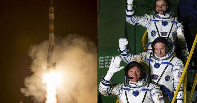 Uzaydaki bir yıllık görev başladı